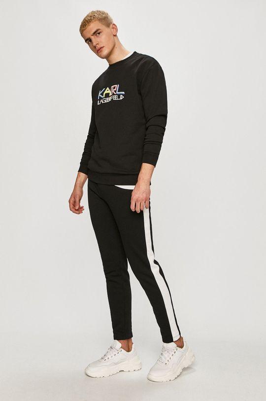 Karl Lagerfeld - Pantaloni negru