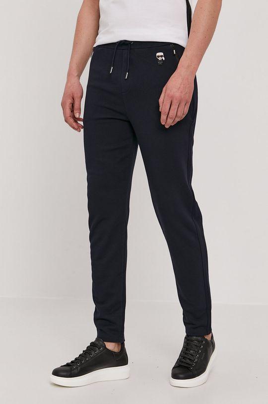 bleumarin Karl Lagerfeld - Pantaloni De bărbați