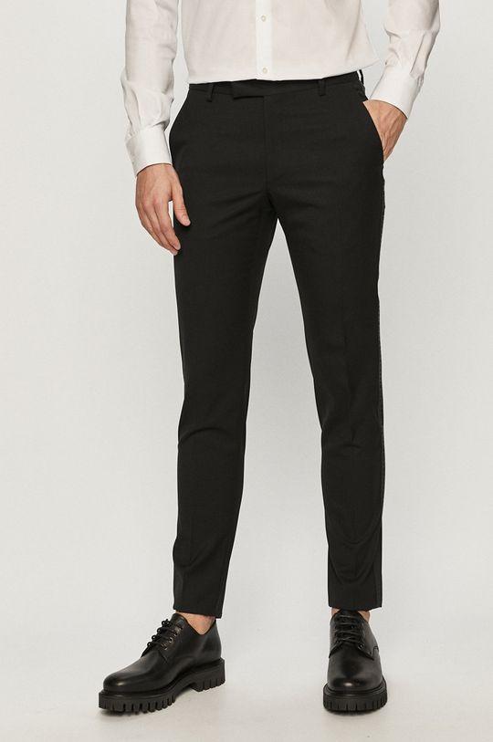 czarny Karl Lagerfeld - Spodnie