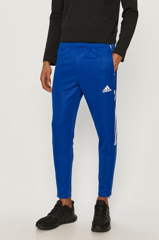 modrá adidas Performance - Kalhoty Pánský