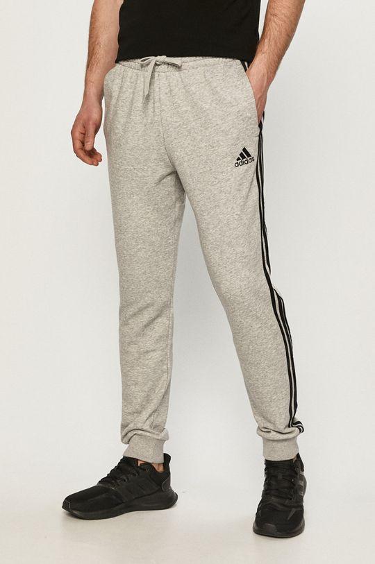 šedá adidas - Kalhoty Pánský