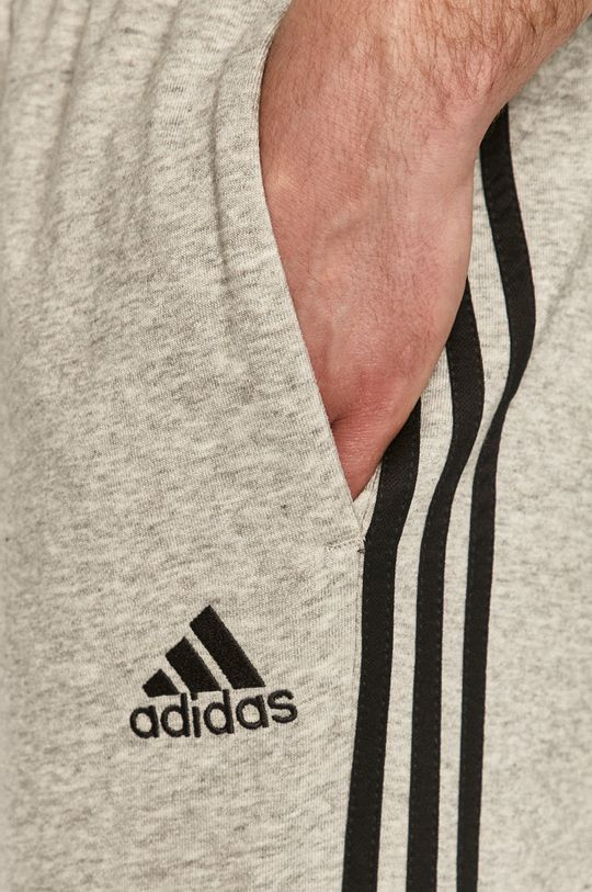 šedá adidas - Kalhoty