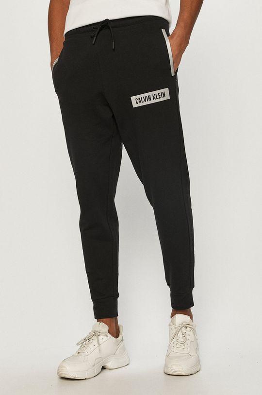 czarny Calvin Klein Performance - Spodnie Męski