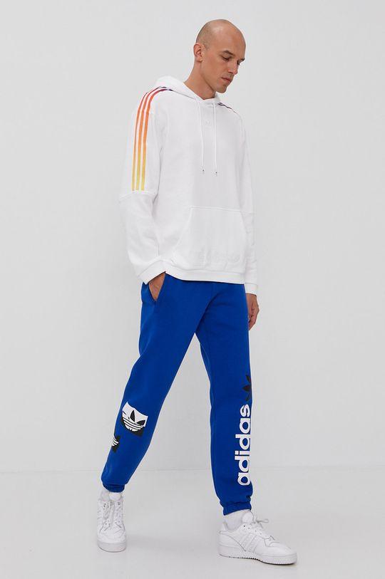 niebieski adidas Originals - Spodnie Męski