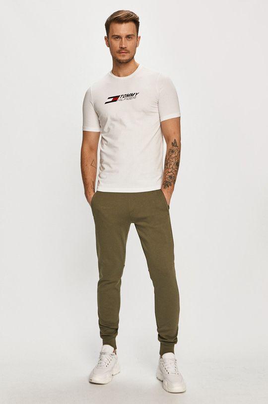 Tommy Hilfiger - Spodnie oliwkowy