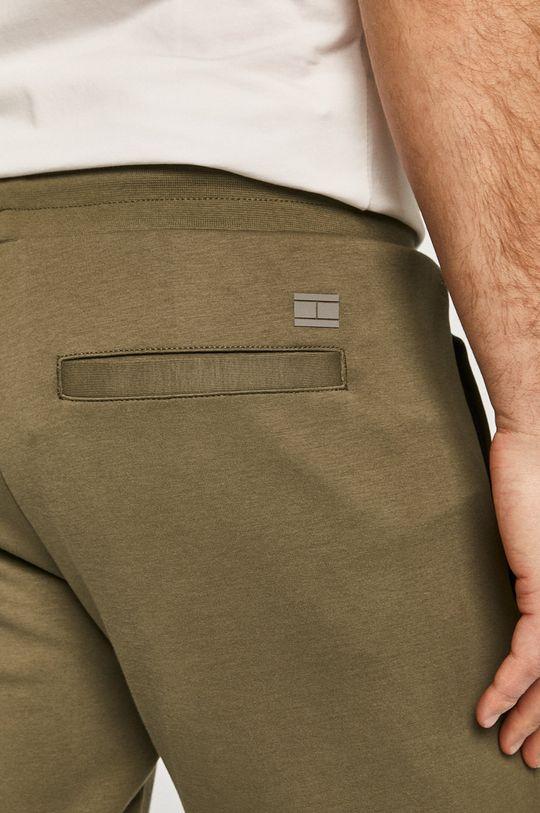 oliwkowy Tommy Hilfiger - Spodnie