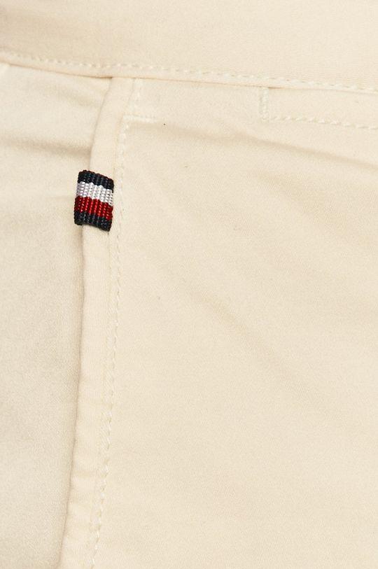 kremowy Tommy Hilfiger - Spodnie