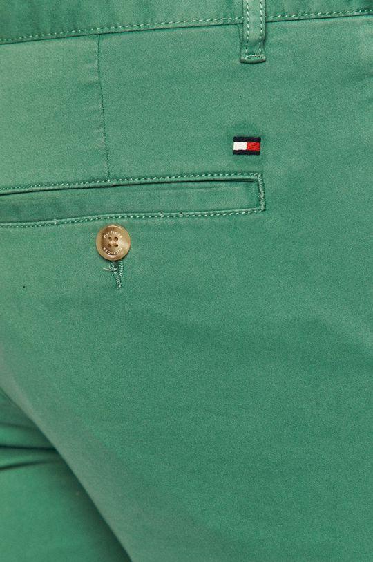 zielony Tommy Hilfiger - Spodnie
