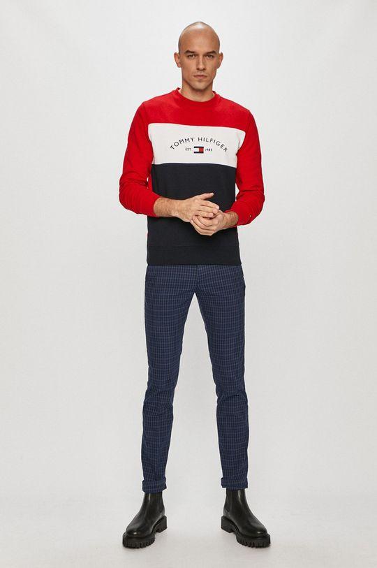 Tommy Hilfiger - Kalhoty námořnická modř