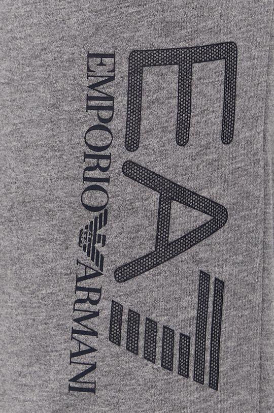 šedá EA7 Emporio Armani - Kalhoty