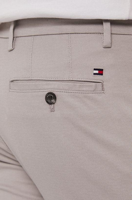 jasny szary Tommy Hilfiger - Spodnie