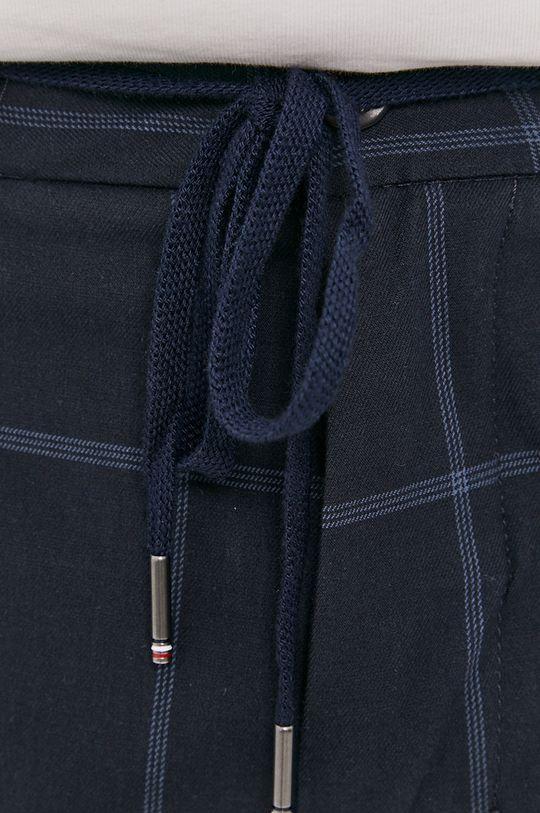 námořnická modř Tommy Hilfiger - Kalhoty