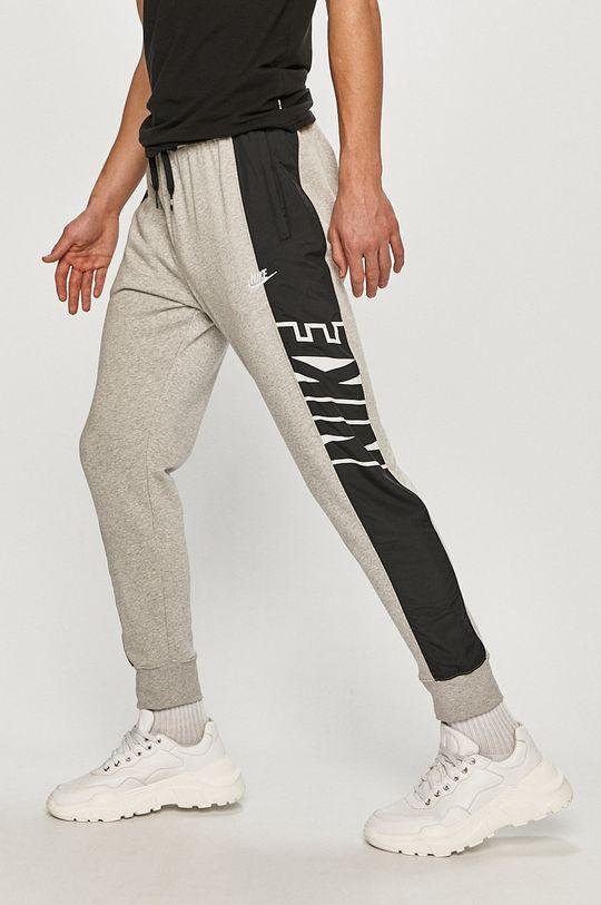 šedá Nike Sportswear - Kalhoty Pánský