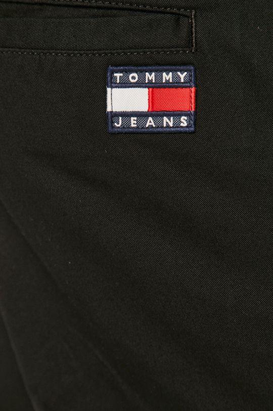 czarny Tommy Jeans - Spodnie