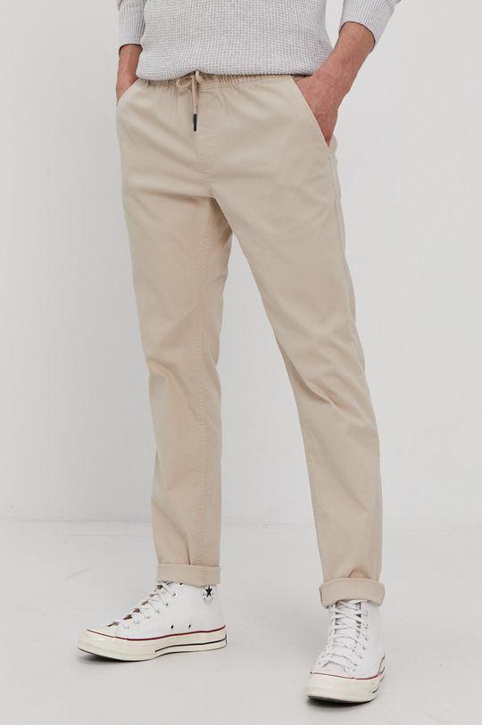 piaskowy Tommy Jeans - Spodnie Męski