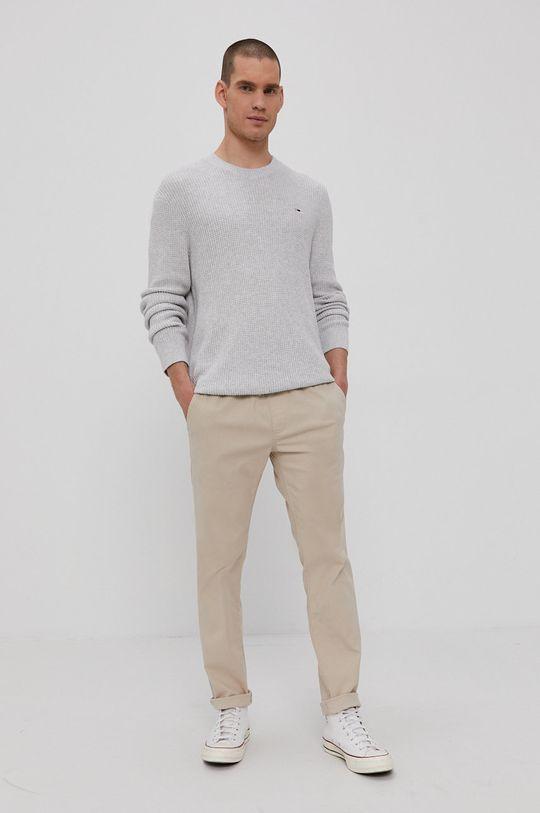 Tommy Jeans - Spodnie piaskowy