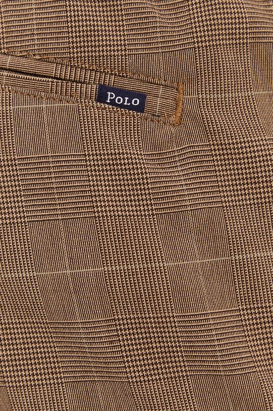 brązowy Polo Ralph Lauren - Spodnie
