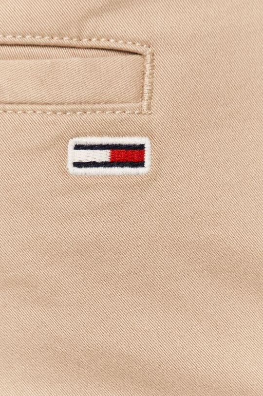 písková Tommy Jeans - Kalhoty