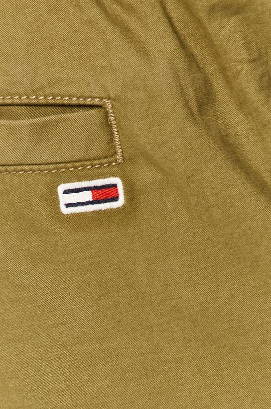 svetlá olivová Tommy Jeans - Nohavice