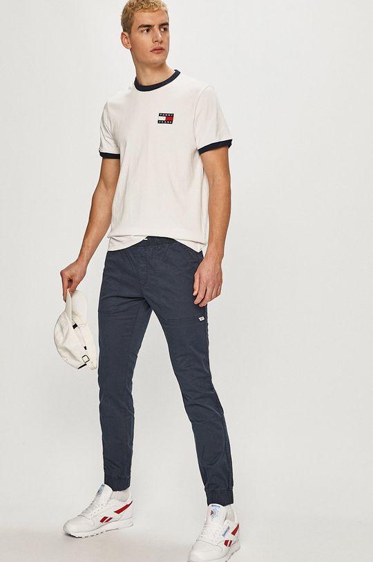 Tommy Jeans - Pantaloni bleumarin