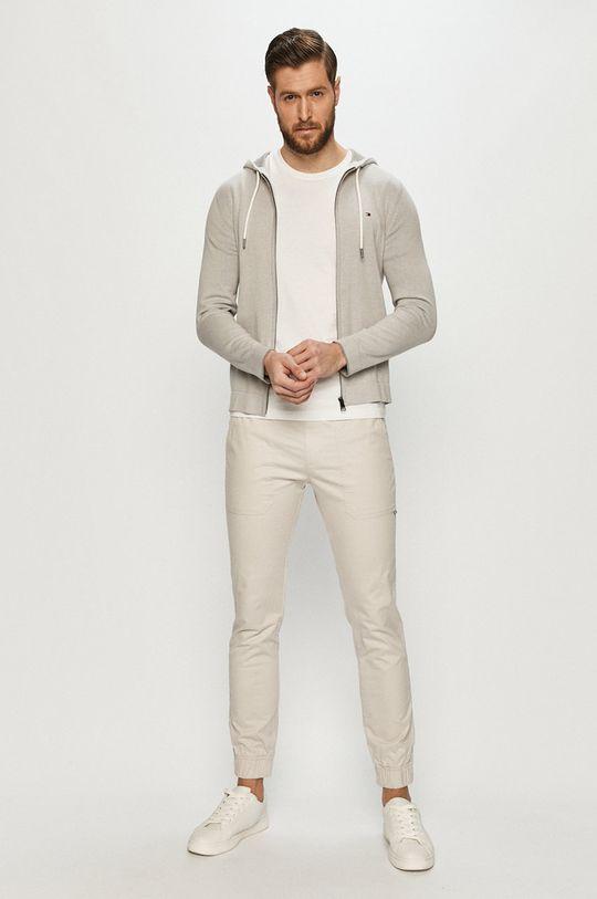 Tommy Jeans - Nohavice sivá