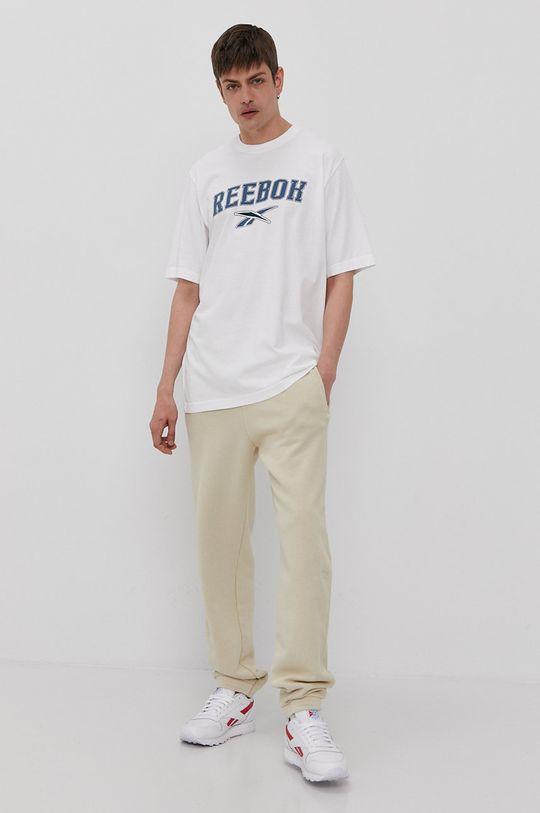 Reebok Classic - Pantaloni culoarea tenului