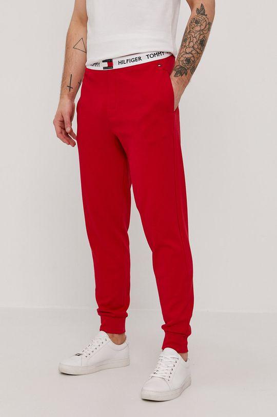czerwony Tommy Hilfiger - Spodnie Męski