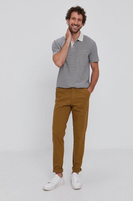 Selected - Spodnie ciepły oliwkowy
