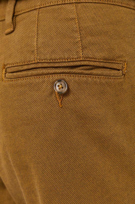 ciepły oliwkowy Selected - Spodnie