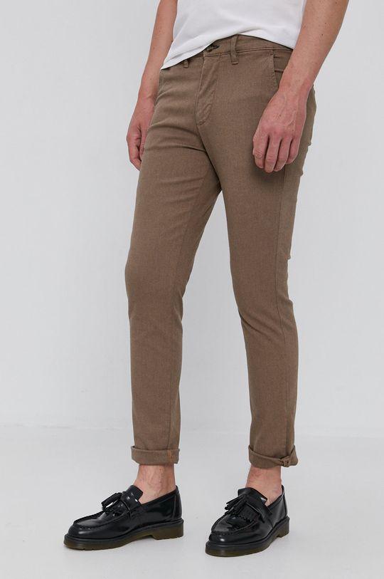 hnědá Selected - Kalhoty Pánský