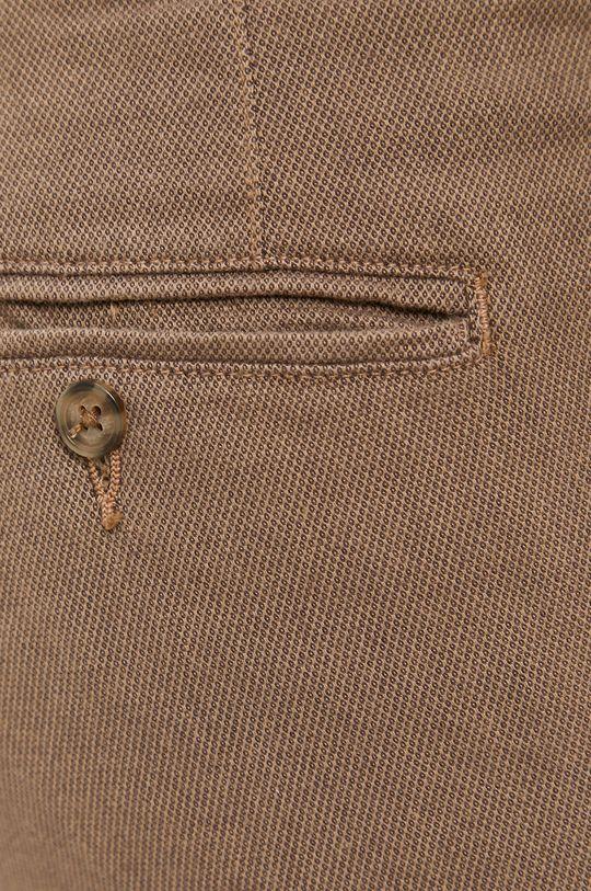 hnědá Selected - Kalhoty