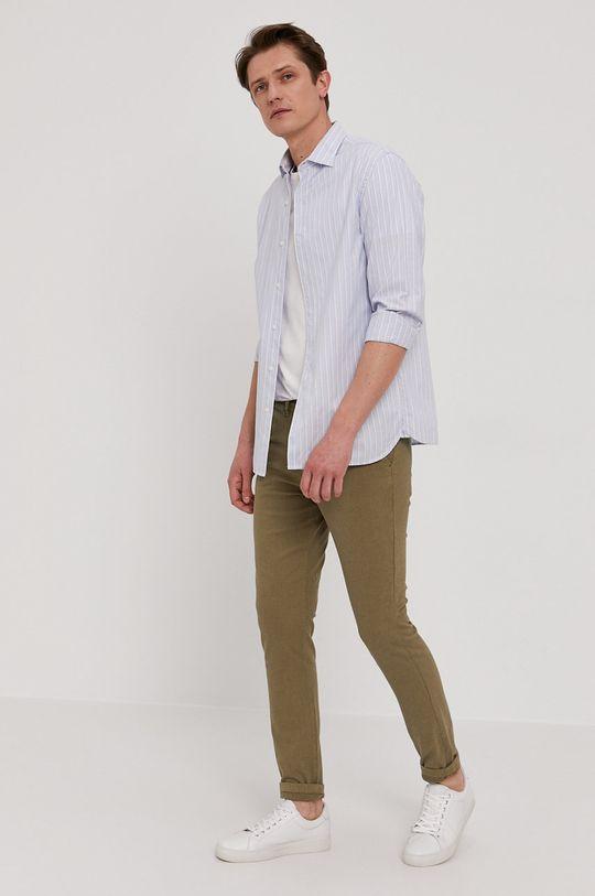 Selected - Kalhoty olivová