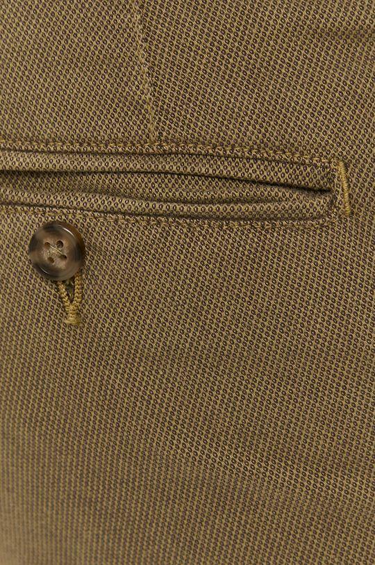 olivová Selected - Kalhoty