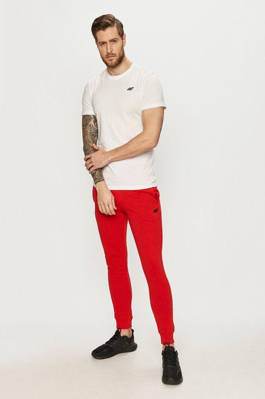 4F - Spodnie czerwony