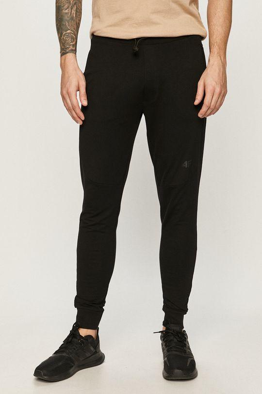 černá 4F - Kalhoty Pánský
