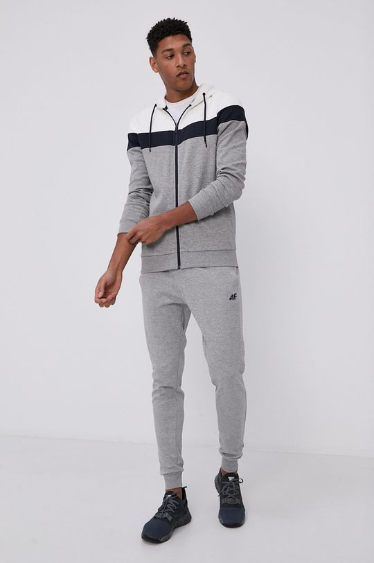 4F - Kalhoty šedá