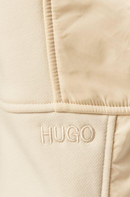 kremowy Hugo - Spodnie