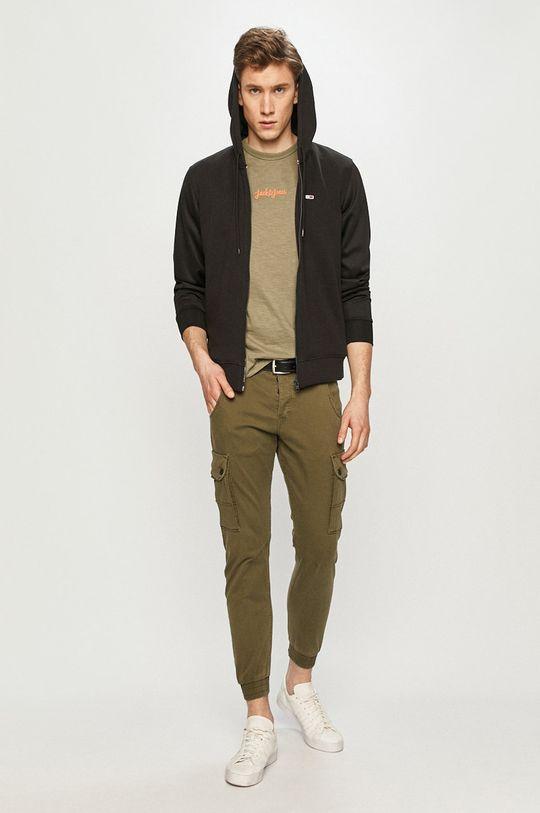 Produkt by Jack & Jones - Kalhoty olivová