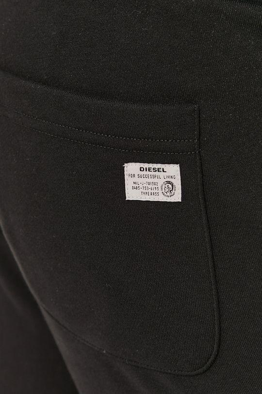 czarny Diesel - Spodnie