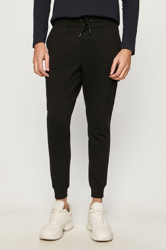 czarny 4F - Spodnie Męski
