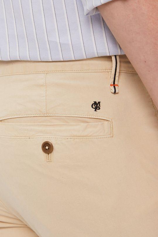 kremowy Marc O'Polo - Spodnie