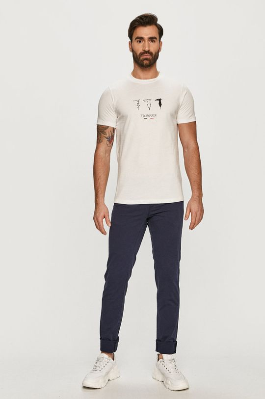 Trussardi Jeans - Spodnie granatowy