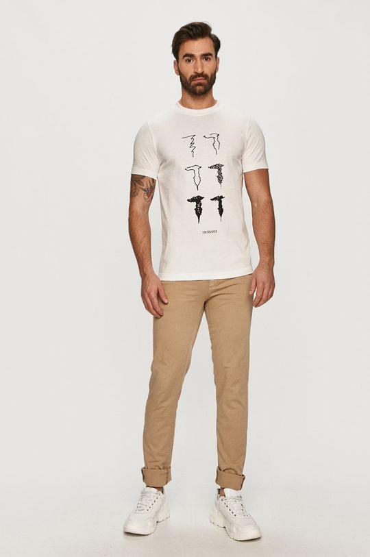 Trussardi Jeans - Kalhoty béžová