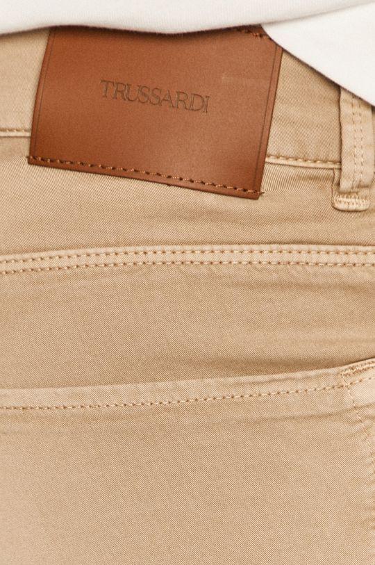 béžová Trussardi Jeans - Kalhoty