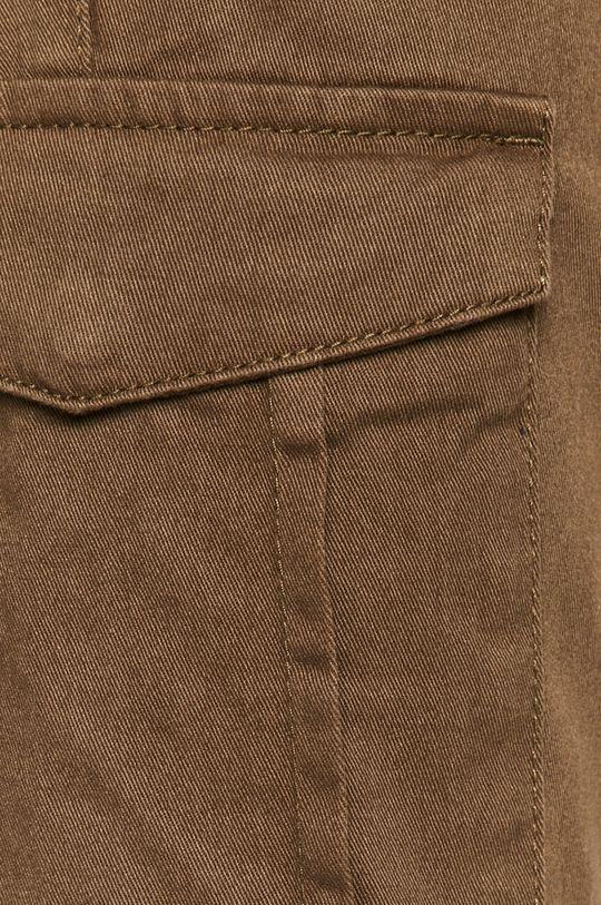 olivová Brave Soul - Kalhoty