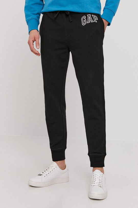 czarny GAP - Spodnie Męski