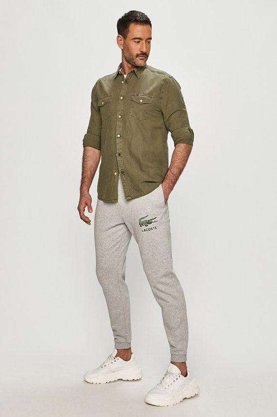 Lacoste - Nohavice svetlosivá