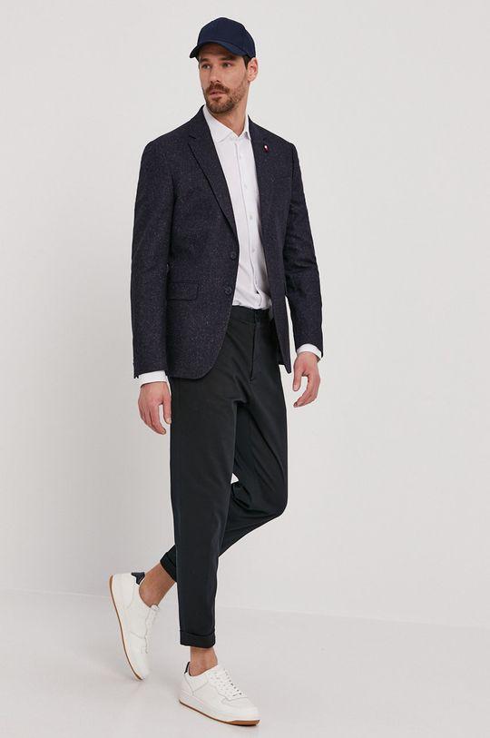 Strellson - Spodnie granatowy