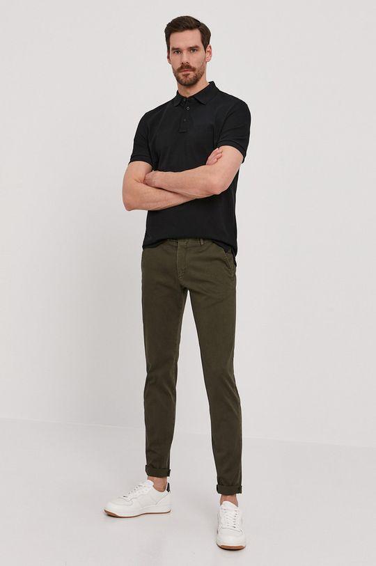 Strellson - Spodnie oliwkowy
