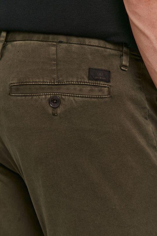 oliwkowy Strellson - Spodnie